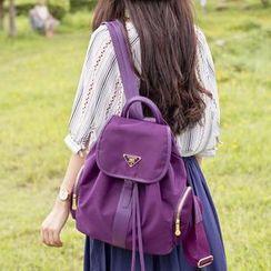 VIVA - Drawstring Nylon Backpack
