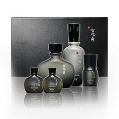 Sulwhasoo - Homme Set: Refiner 120ml + Fluid 90ml + Refiner 15ml + Fluid 15ml + Cream 5ml