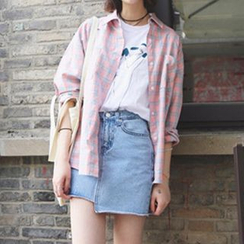 YOSH - A-line Denim Skirt