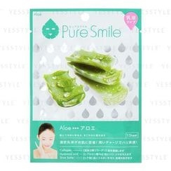 Sun Smile - Pure Smile Essence Mask Series For Milky Lotion (Aloe)