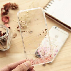 Wince - Floral Print Mobile Case - iPhone 5s