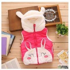 Pegasus - Kids Rabbit Applique Padded Vest