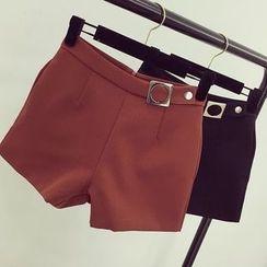 Honeydew - High Waist Shorts