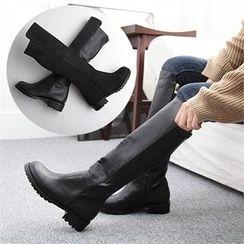 Reneve - Flat-Heel Tall Boots
