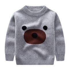 Endymion - Kids Cartoon Print Sweater