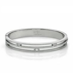 Kenny & co. - Crystal Striped Bangle(S)