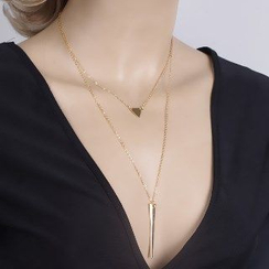 Seirios - Double Pendant Layered Necklace