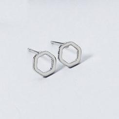 WOQIAO - 六角耳釘