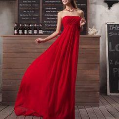 Bridal Workshop - 抹胸A字雪纺晚礼服