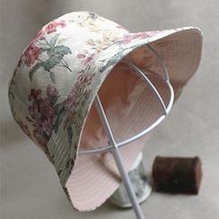 LIONPISCES - Floral Print Reversible Bucket Hat