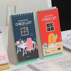 iswas - Monster Desk Checklist Planner - (S)