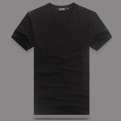 EAST Fox - V-neck Short-Sleeve T-shirt