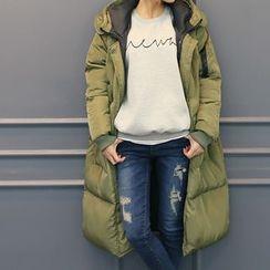 DANI LOVE - Hooded Long Padded Coat