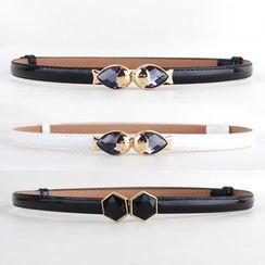 Goldenrod - Fish Skinny Belt