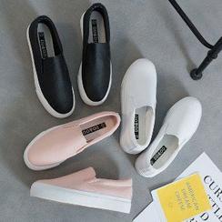 Solejoy - Slip-On Platform Sneakers