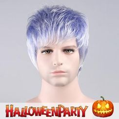 Party Wigs - Halloween Party Wigs - Sad Pruple