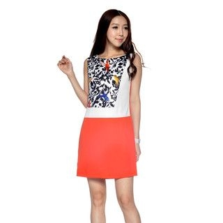 YesStyle Z - Bird Print Shift Dress