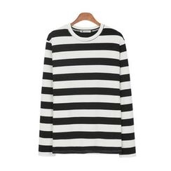 DANGOON - Crew-Neck Striped T-Shirt