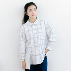Forest Girl - Plaid Shirt