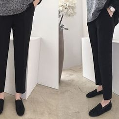 DAILY LOOK - Band-Waist Dress Pants