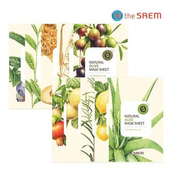 The Saem - Natural Lemon Mask Sheet 1pc