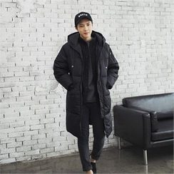 MITOSHOP - Hooded Long Padded Coat