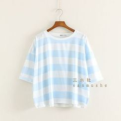 Mushi - Striped T-Shirt