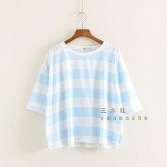 三木社 - 條紋T恤