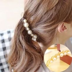 Coolgirl - Faux Pearl Hair Clamp