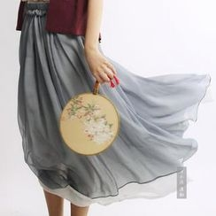 Rivulet - Layered Maxi Skirt