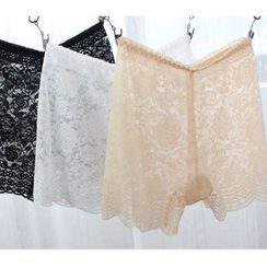 Gloriette - Lace Under Shorts