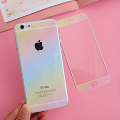 Casei Colour - iPhone 5s / 6 / 6 Plus Gradient Print Protective Film (Front & Back)
