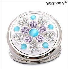 Yogi-Fly - Beauty Compact Mirror ( JF-52PL) (Blue)