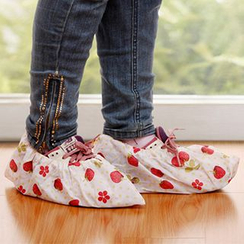 Heureux - Printed Shoe Covers