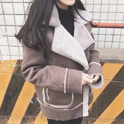 November Rain - Faux Shearling Jacket