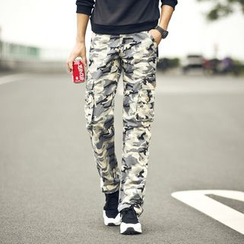 JVR - Camouflage Cargo Pants