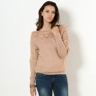 59 Seconds - Fuzzy Knit Sweater