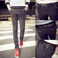JORZ - 麻布棉质裤