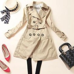 LittleSecret - Double-Breasted Trench Coat