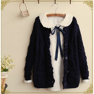 Fairyland - Cable-Knit Cardigan