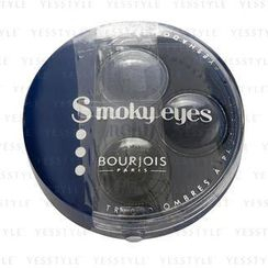 Bourjois 妙巴黎 - Smoky Eyes (Eyeshadow Trio) (#11 Bleu Jeans)