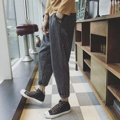 Besto - Pinstriped Harem Pants