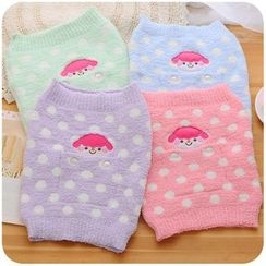 Momoi - Fleece Animal Embroidered Waist Warmer