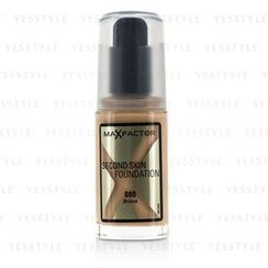 Max Factor 蜜丝佛陀 - Second Skin Foundation - #080 Bronze