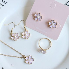 Cometto - Sakura Ring / Earrings/ Clip-On Earrings / Necklace