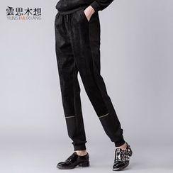 Cloudwood - Check Panel Sweatpants
