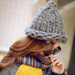 Ticoo - Cable-Knit Beanie