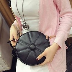Youme - Round Chained Mini Shoulder Bag