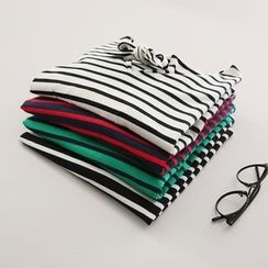 Piko - Long-Sleeve Striped T-Shirt