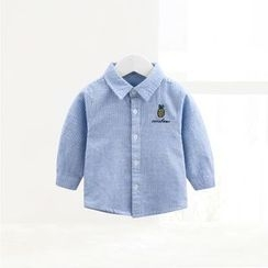 ciciibear - Kids Pinstripe Long-Sleeve Shirt